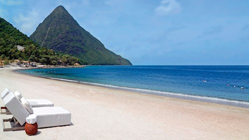 Sugar Beach, A Viceroy Resort, Saint Lucia - Pitons View