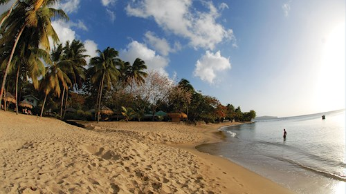 East Winds Saint Lucia - Beach View
