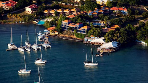 True Blue Bay Resort, Grenada - Aerial View