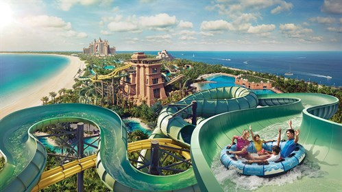 Aerial view of Aquaventure