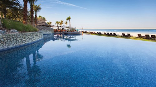 JA Palm Tree Court, Dubai - Beach Infinity Pool