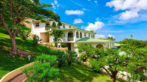 Blue Horizons Garden Resort, Grenada - Tropical Gardens