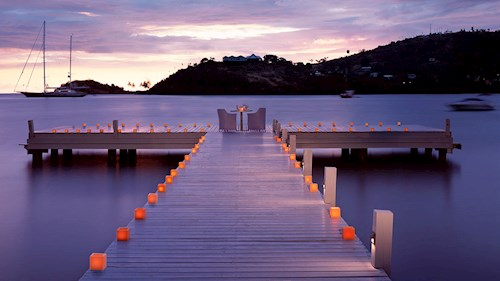 Carlisle Bay, Antigua - Jetty at Sunset