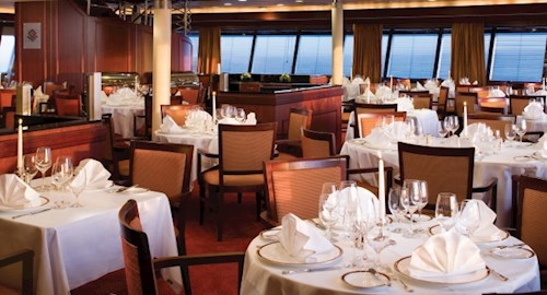 Dining on the Silversea cruise