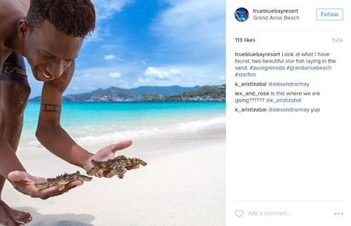 Grand Anse Beach, Granada (Instagram truebluebayresort)