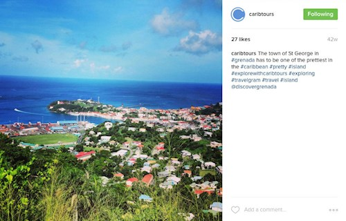 St George's, Grenada (Instagram Caribtours)