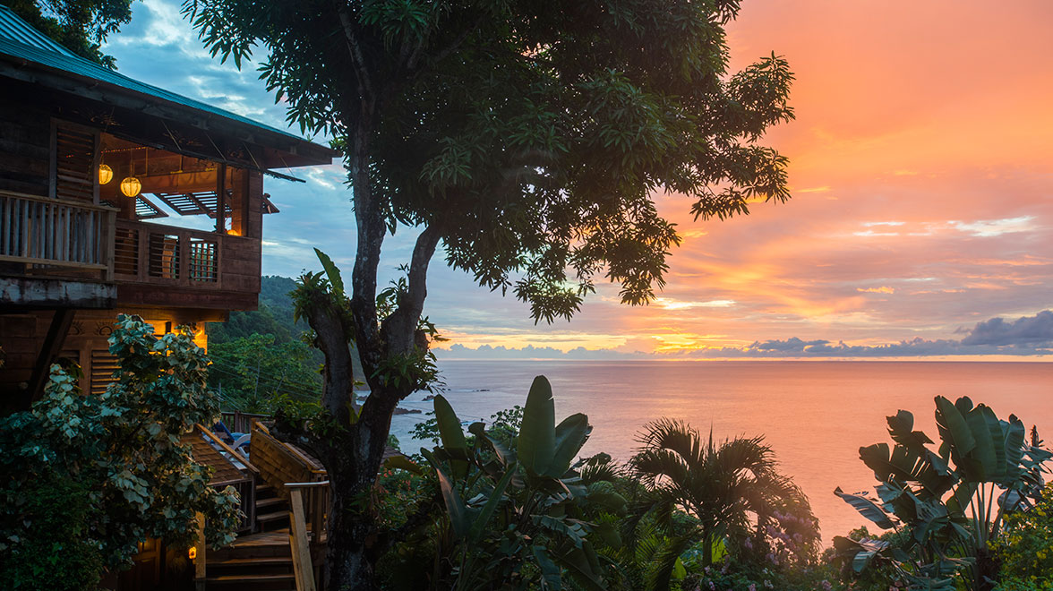 Castara Retreats Tobago Caribtours