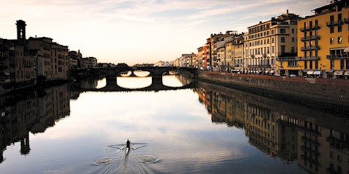 River Arno in Florence, Italy