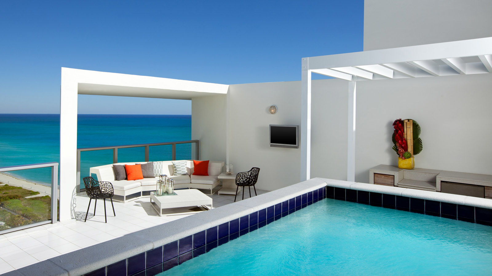 South Beach Miami Hotels With Balcony Ocean View