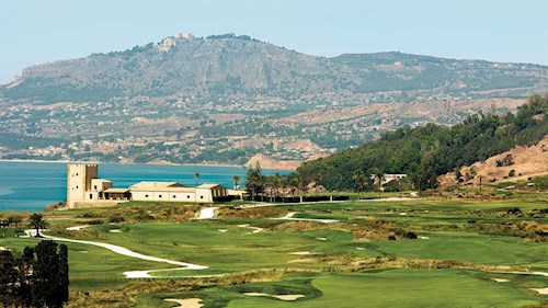 Verdura Resort Sicily - Mountain Scenery